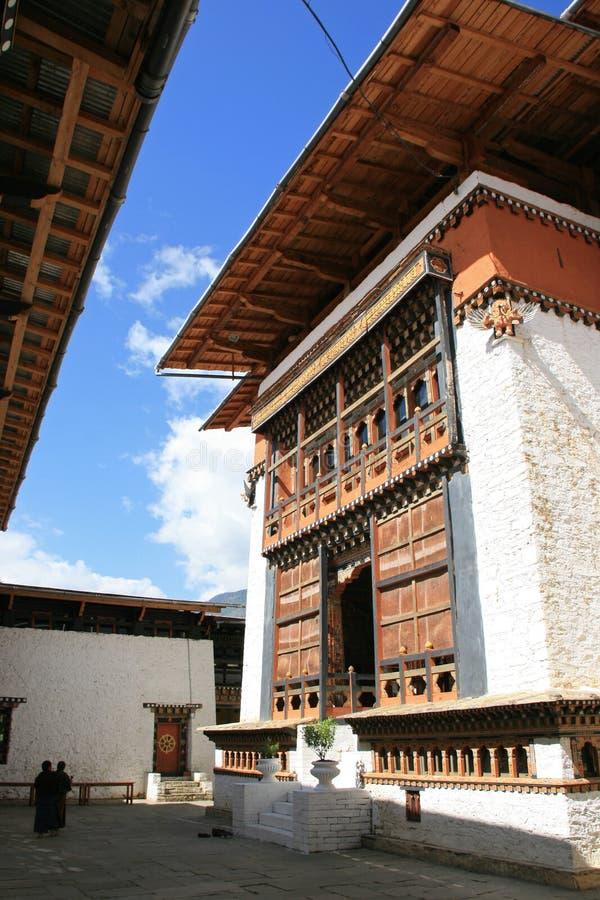 Simtokha Dzong - Thimphu - Butão fotos de stock