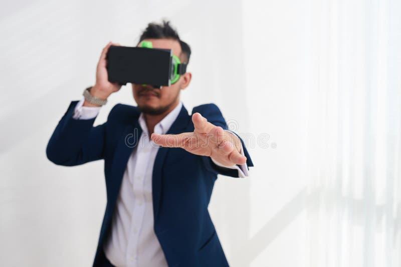 Simulação de VR imagem de stock royalty free