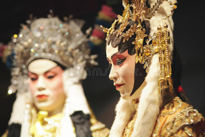 Simulacre chinois d'opéra photo libre de droits