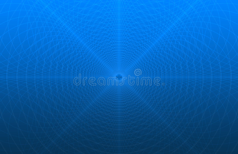 simulation bleue de garantie de configuration de fond illustration stock