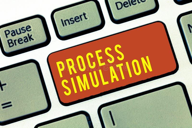 Simulation de processus des textes d'écriture Le concept signifiant la représentation technique a fabriqué l'étude d'un système photos libres de droits