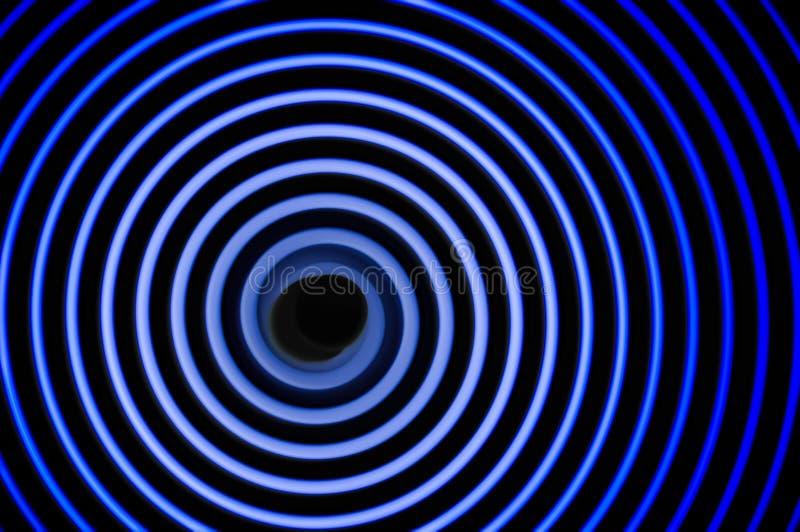 Simulazione delle onde gravitazionali immagini stock