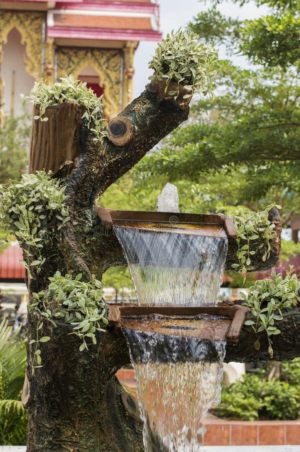Simuleer fontein royalty-vrije stock foto