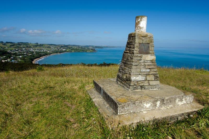 Sin duda alguna tierra del norte Nueva Zelanda de la bahía fotografía de archivo