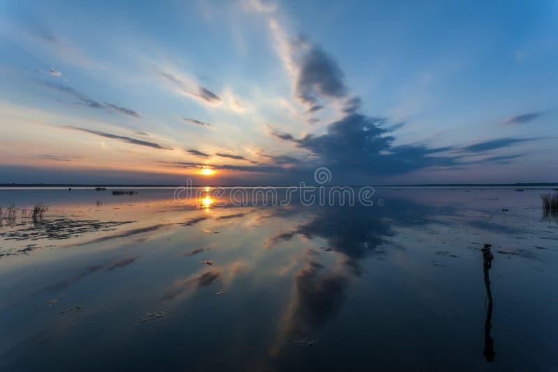 Sin la onda y el viento foto de archivo