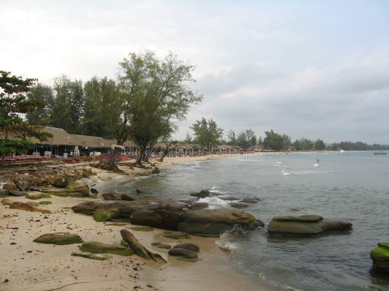 Sina della spiaggia immagini stock