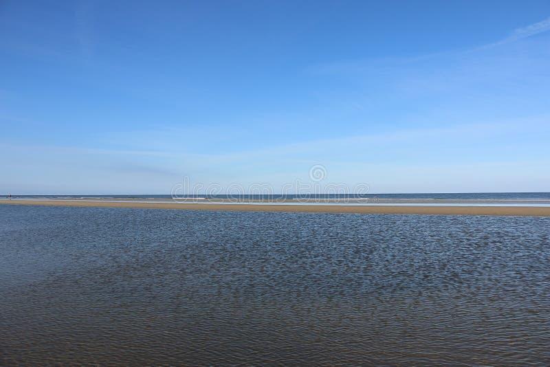 Sina på Nordsjön royaltyfri bild