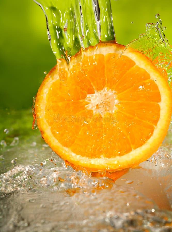 Sinaasappel royalty-vrije stock afbeeldingen