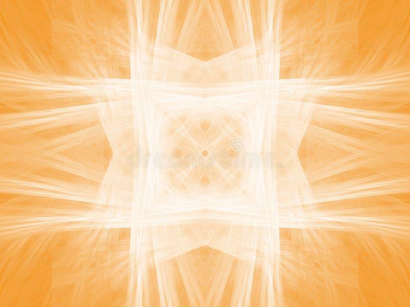 Sinaasappel stock illustratie