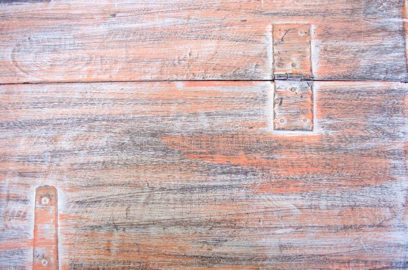Sinaasappel geschilderde houten textuurachtergrond royalty-vrije stock afbeelding