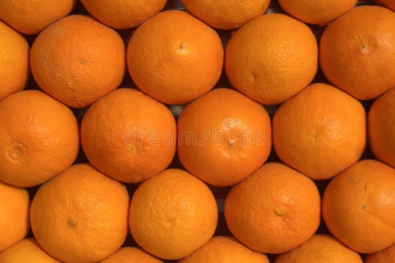 Sinaasappelen om sap en de zoete smaak te maken stock fotografie