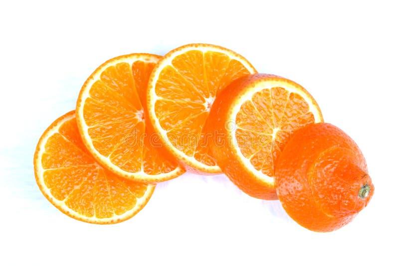Sinaasappelschillen Royalty-vrije Stock Foto's