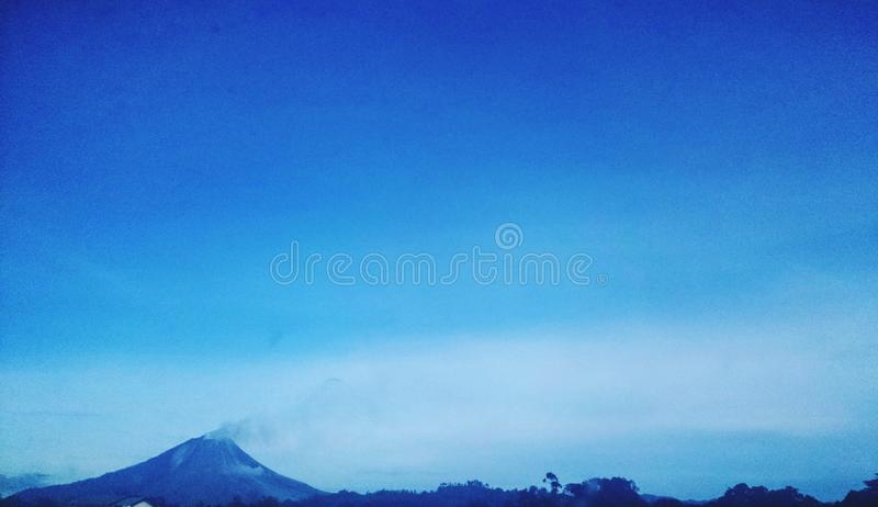 Sinabung royalty free stock images