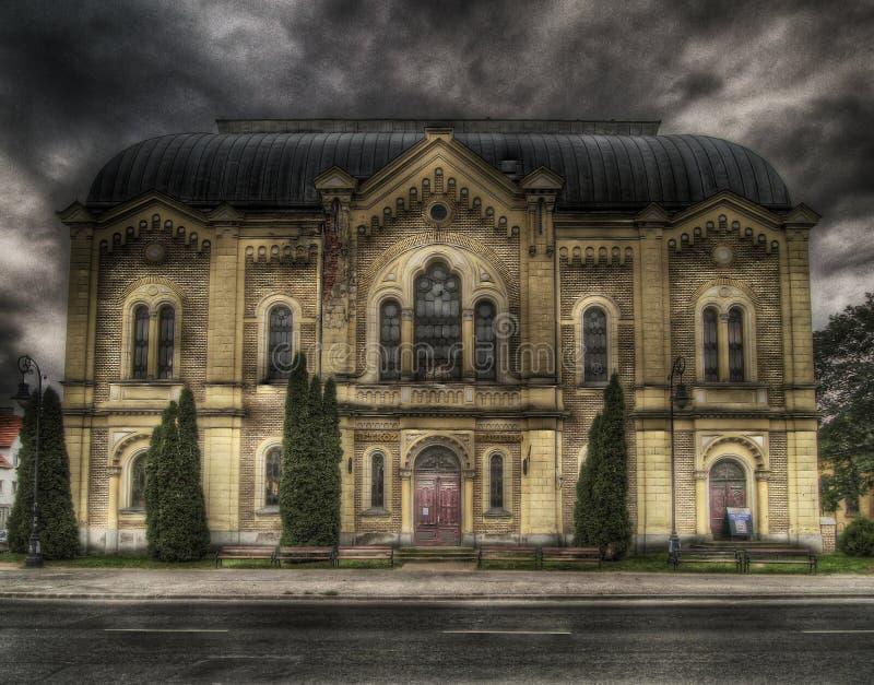 Sinagoga imagen de archivo libre de regalías