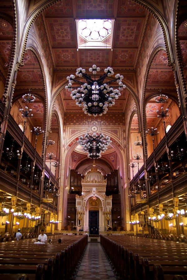 Sinagoga Budapest fotografia stock libera da diritti