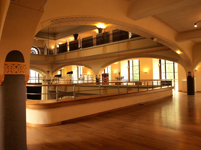 Sinagoga da cegonha branca, Wroclaw, Poland foto de stock royalty free