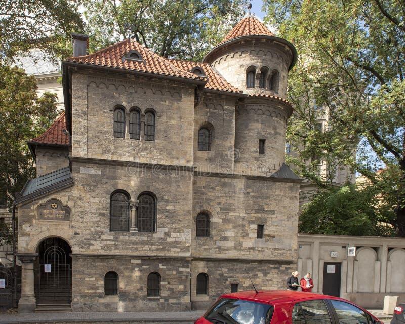 Sinagoga de Klausen, Praga, República Checa imagen de archivo libre de regalías