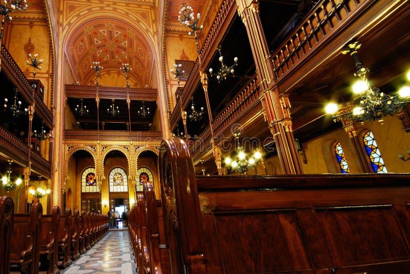 Sinagoga de la calle de Dohany, Budapest, Hungría imagen de archivo