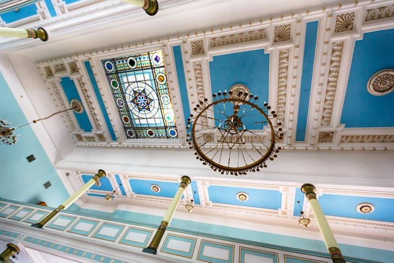 Sinagoga en Riga fotos de archivo
