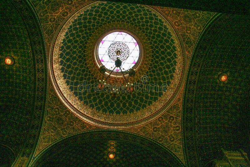 Sinagoga española fotografía de archivo