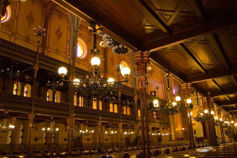 Sinagoga grande #1 foto de stock