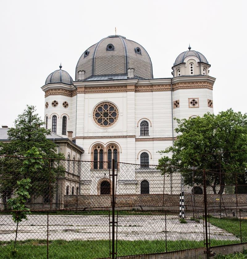 Sinagoga, Gyor, Hungria fotografia de stock