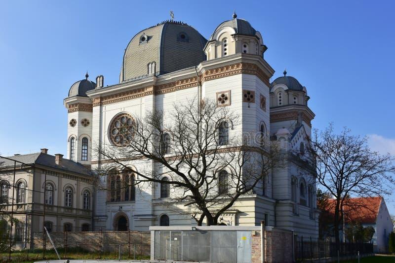 Sinagoga, Gyor, Hungria Tema arquitetónico religioso foto de stock