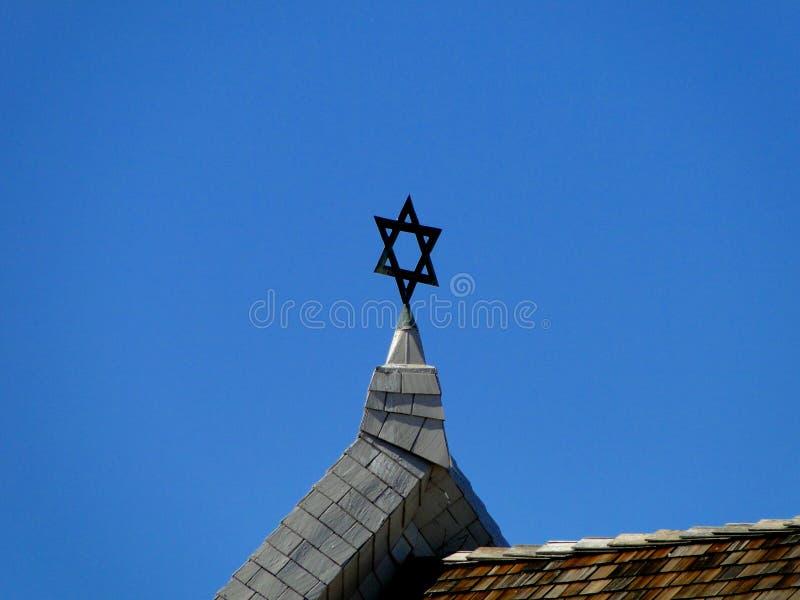 Sinagoga judía - Ahavath Beth Israel fotos de archivo