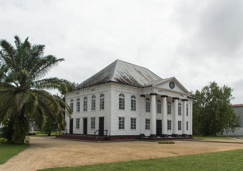 Sinagoga Paramaribo de Neve Shalom imagenes de archivo