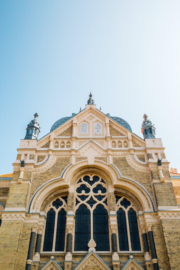 Sinagoga Szeged en Szeged, Hungría imagen de archivo libre de regalías