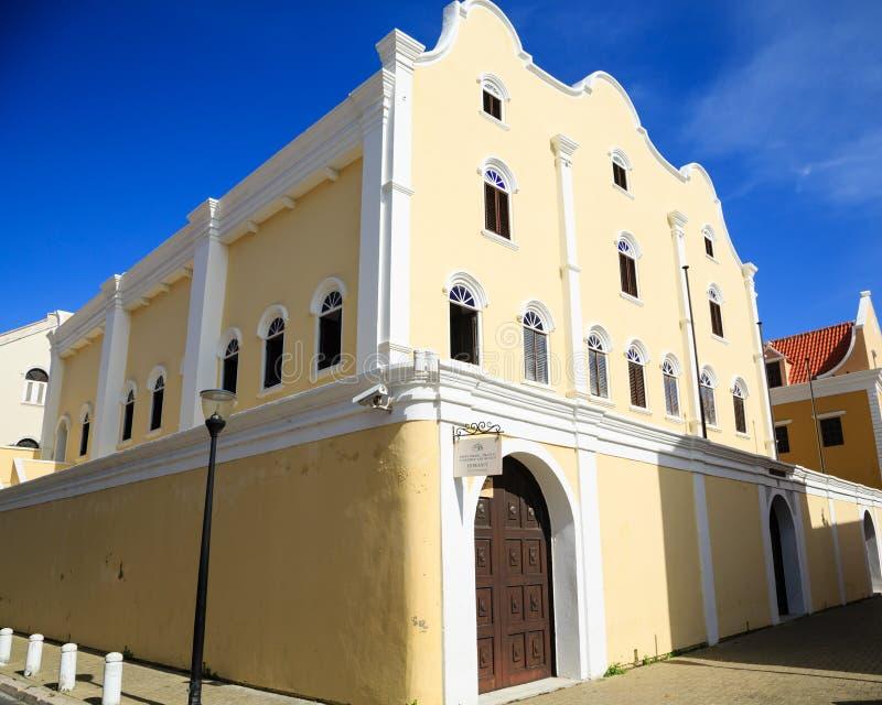 Sinagoga vieja en Curaçao foto de archivo libre de regalías
