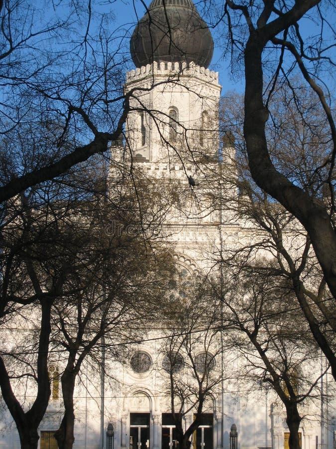 Sinagoga vieja, Kecskemet, Hungría fotografía de archivo