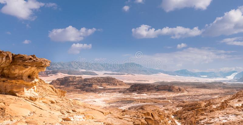 Sinai τοπίο ερήμων στοκ φωτογραφία με δικαίωμα ελεύθερης χρήσης