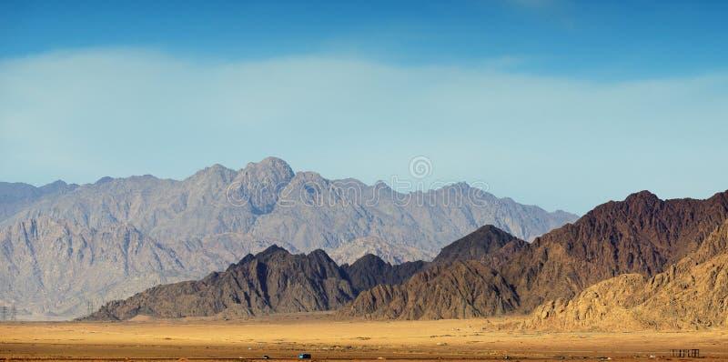Sinai bergen stock afbeeldingen