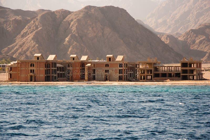 Sinai en construction de construction, Egypte image stock