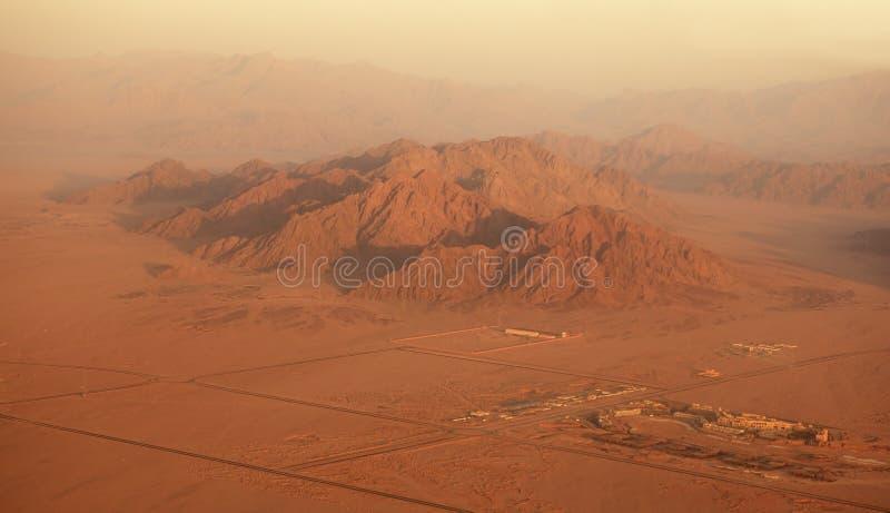 Sinai (type van vliegtuigen). royalty-vrije stock afbeelding