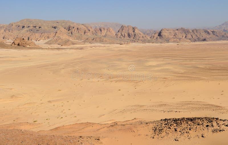 Sinai-Wüste stockfotos