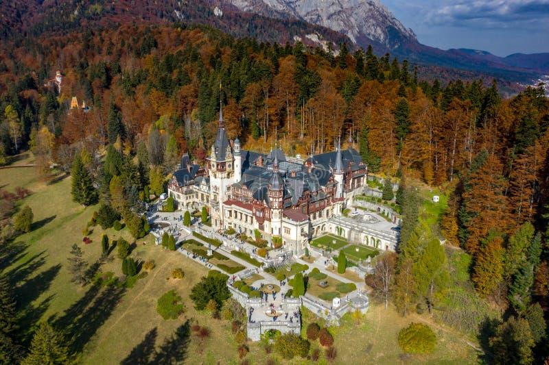 sinaia Румынии peles замока стоковая фотография rf