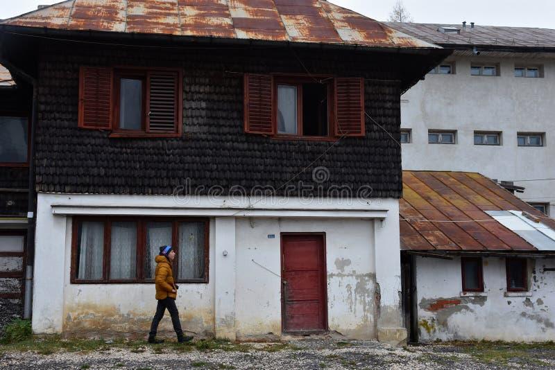 Sinaia documentair project royalty-vrije stock fotografie
