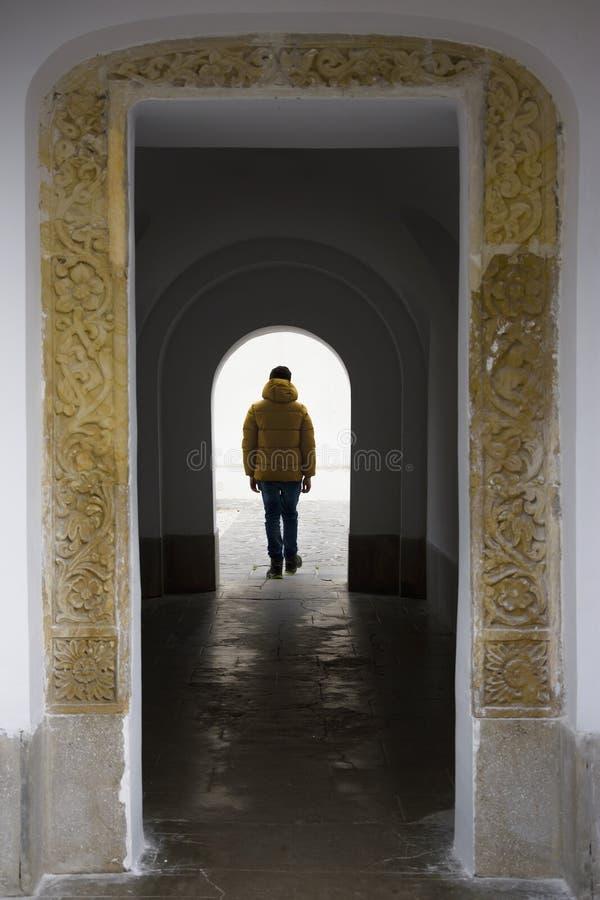 Sinaia kloster, Sinaia, Prahova dal, Rumänien royaltyfria foton