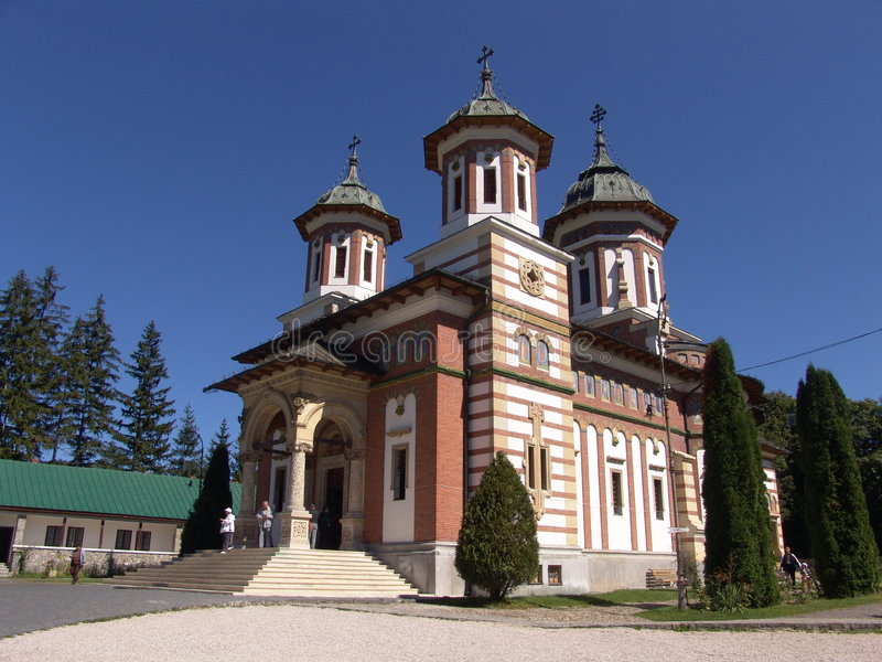 Sinaia monastery stock image