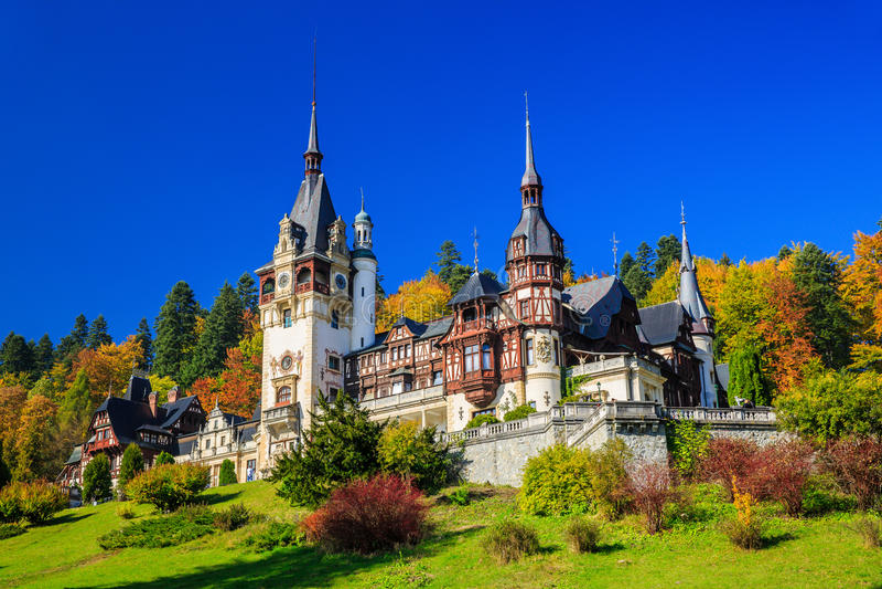 Sinaia, Romania imagens de stock royalty free