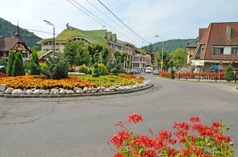 Sinaia, Romania em um verão fotografia de stock