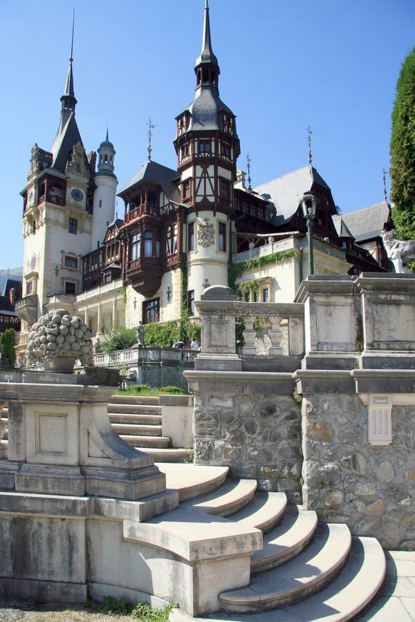 sinaia zamek peles Romania obraz stock
