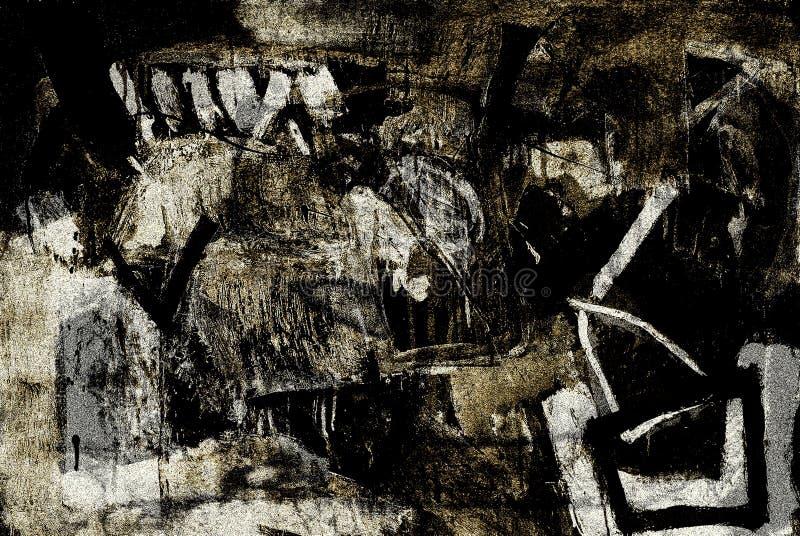 Sinais abstratos ilustração royalty free