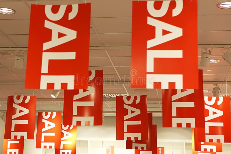 Sinais da venda foto de stock royalty free