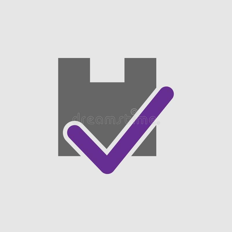 Sinal, ícone do pacote Elemento do ícone da entrega e da logística para apps móveis do conceito e da Web Sinal detalhado, ícone d ilustração stock