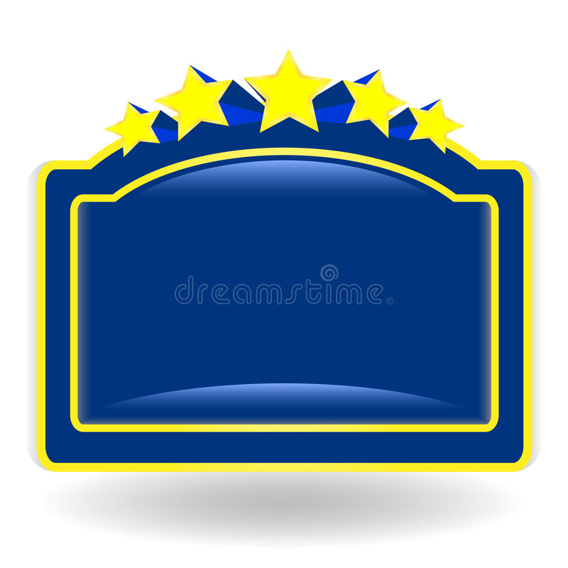 Sinal ilustração royalty free