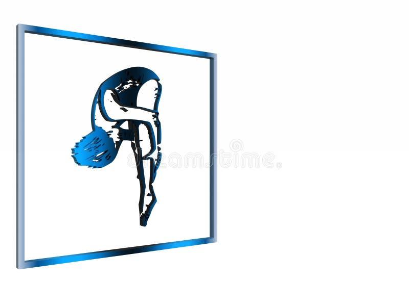 Download Sinal Alerta, Símbolo, área Nadadora. Ilustração Stock - Ilustração de clipping, saúde: 537965