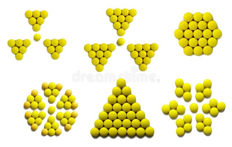 Sinal amarelo imagens de stock royalty free